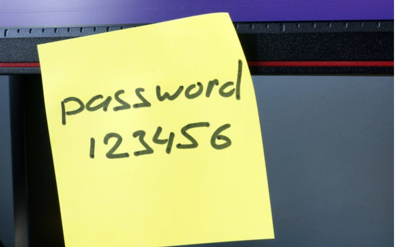 password-sticker