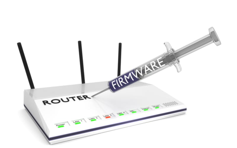 router adapting firmware